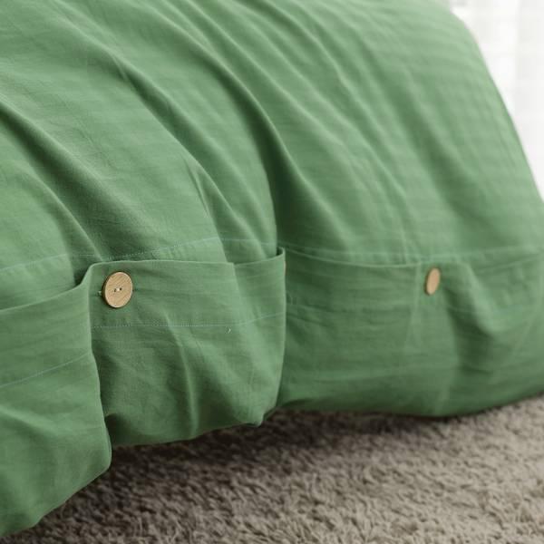 【 好關係 HAOKUANXI 】漫步山林-天然色織棉被套 好關係, HAOKUANXI, haokuanxi, 寢具, 床包, 被套, 枕頭, 棉被, 保潔墊, MIT, 台灣製造, 沐浴朝陽, 天然色織棉,