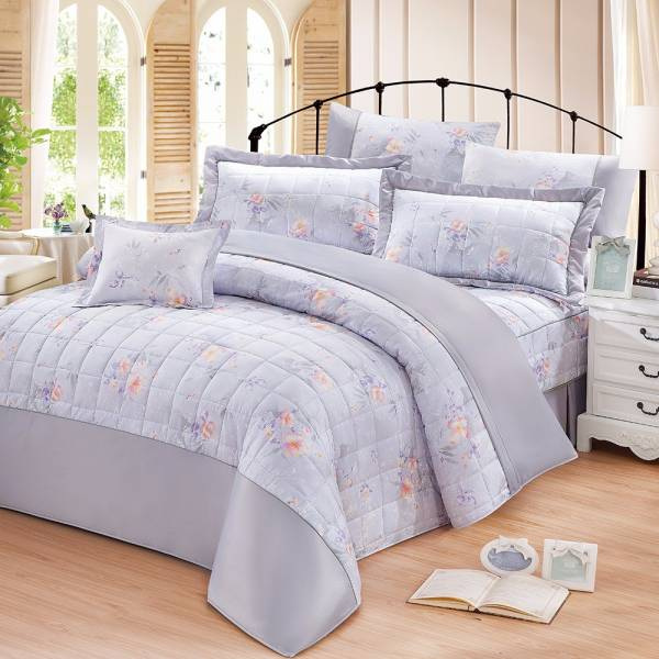 Ally 西崎淡雅風情雙人加大純棉七件式床罩組 Ally 西崎淡雅風情雙人加大純棉七件式床罩組