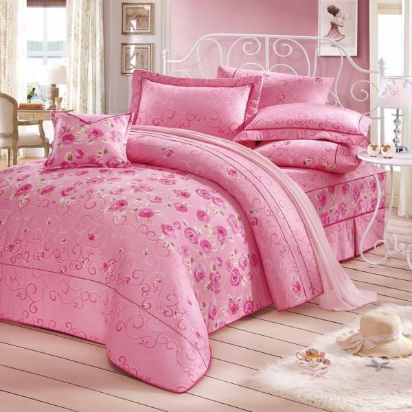 Ally 西崎馥郁紛飛雙人純棉七件式床罩組 Ally 西崎馥郁紛飛雙人純棉七件式床罩組