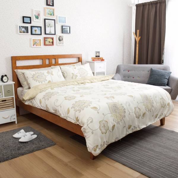 Ally 西崎雙人加大四件式波士尼亞天絲床包兩用被組 Ally 西崎雙人加大四件式波士尼亞天絲床包兩用被組