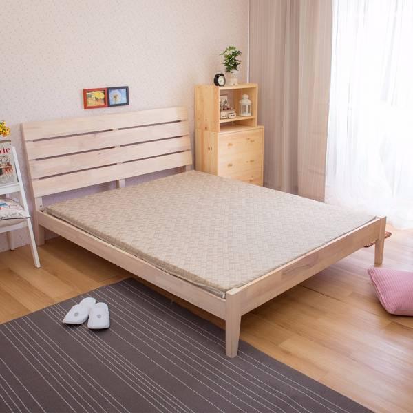Ally 雙人加大6尺卡其色天然防蹣乳膠床墊 Ally 雙人加大6尺卡其色天然防蹣乳膠床墊