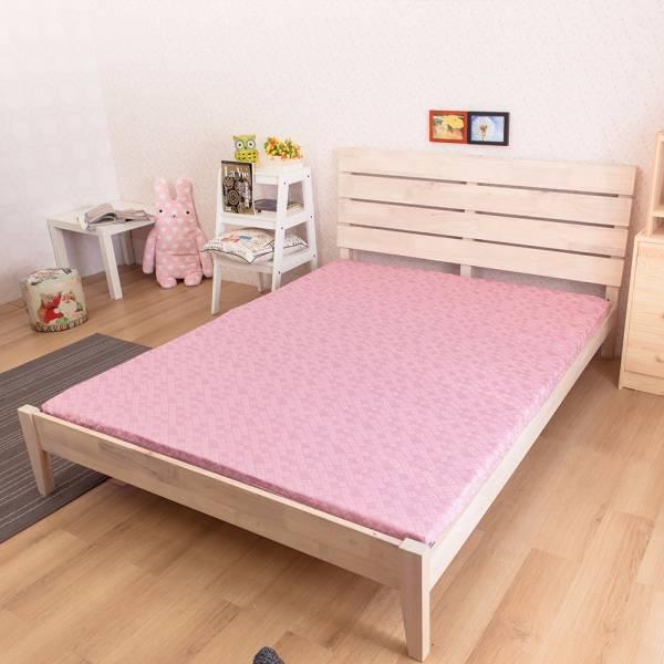 Ally 雙人加大6尺粉紅色天然防蹣乳膠床墊 Ally 雙人加大6尺粉紅色天然防蹣乳膠床墊