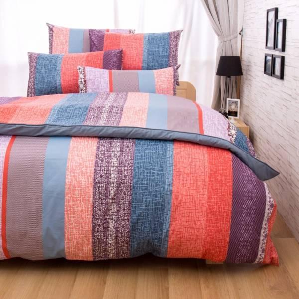 Ally 菲夢絲雙人四件式貝斯里尼精梳純棉床包被套組 Ally 菲夢絲雙人四件式貝斯里尼精梳純棉床包被套組