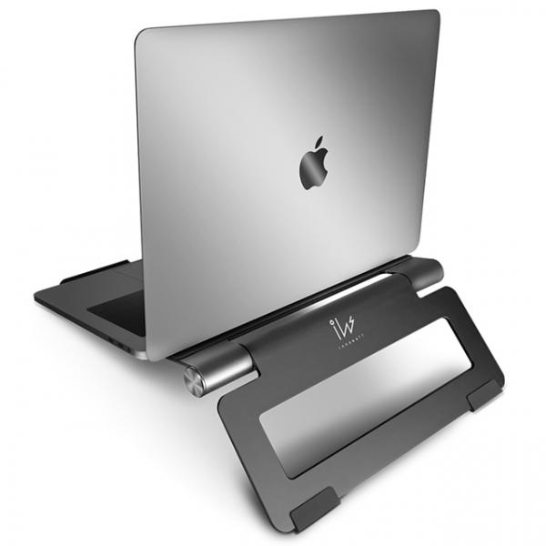 innowatt THE YOGA 優架(Lite) 可旋轉調控高度之人體工學筆電支架 Mac筆電支架,筆電支架,YOGA優架,鋁合金, Apple, ASUS, Dell, HP, ACER, Lenovo