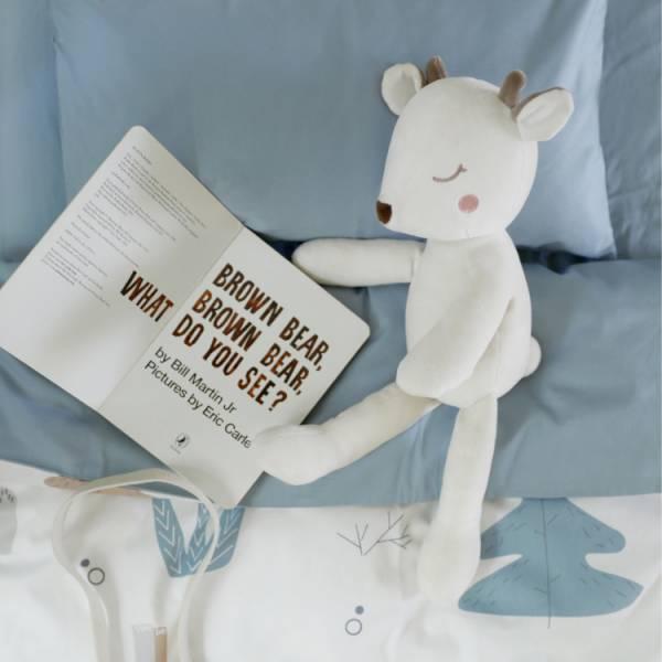 北歐童趣 嬰兒床單被套枕套三件組