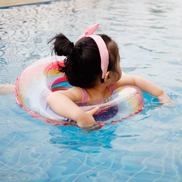 歐美時髦水晶彩虹兒童/青少年泳圈  兒童游泳圈,泳圈,彩虹泳圈