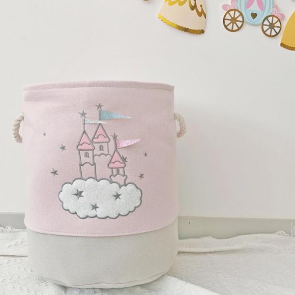 公主城堡大尺寸玩具衣物收納桶 兒童收納,玩具收納,收納籃,置物籃,收納桶