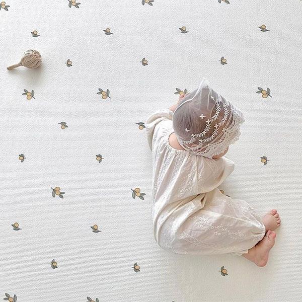 歐美優雅小橄欖大尺寸100x150cm地墊 歐美地墊,厚實地墊,圓形地墊,兒童房佈置,兒童地墊,房間地墊,防滑地墊