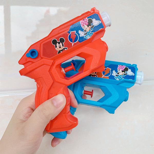 迪士尼米奇按壓式水槍組(一組2隻) 小水槍,幼兒水槍,按壓式水槍,兒童水槍