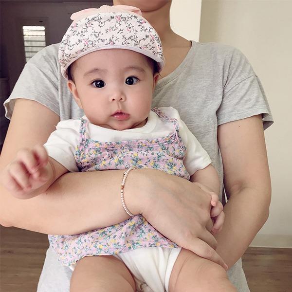 韓製無印風簡約扭結Baby純棉遮陽帽  正韓 韓國進口 韓製 幼兒遮陽帽  baby遮陽帽 嬰兒遮陽帽 造型帽 無印風