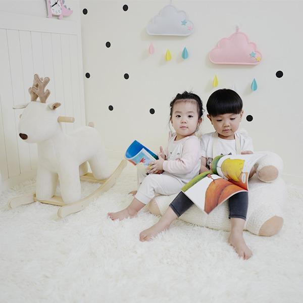 軟Q熊寶沙發 兒童小沙發