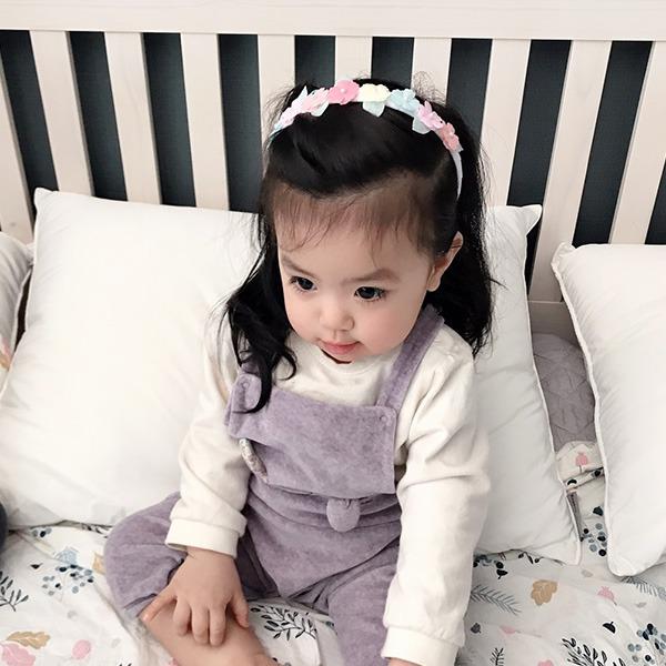 正韓 夏日粉嫩花朵/蝴蝶髮箍 正韓 韓國進口 蝴蝶 花朵 髮箍 髮飾