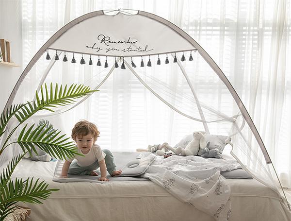 韓國唯美流蘇速開蚊帳/防蚊帳篷 防蚊帳篷,速開帳篷,兒童防蚊,兒童帳篷