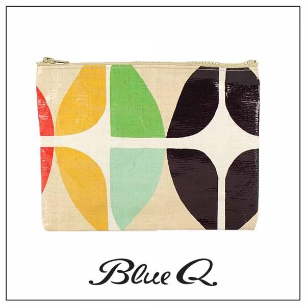 Blue Q 拉鍊袋 - Lux 懷舊奢華 收納袋,米袋,環保,創意,設計,再生,公益