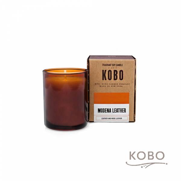KOBO 美國大豆精油蠟燭 - 蒙地拿皮革 (85g/可燃燒20hr) 精油蠟燭,蠟燭,美國,香氛,天然,手工,旅行,小容量,攜帶