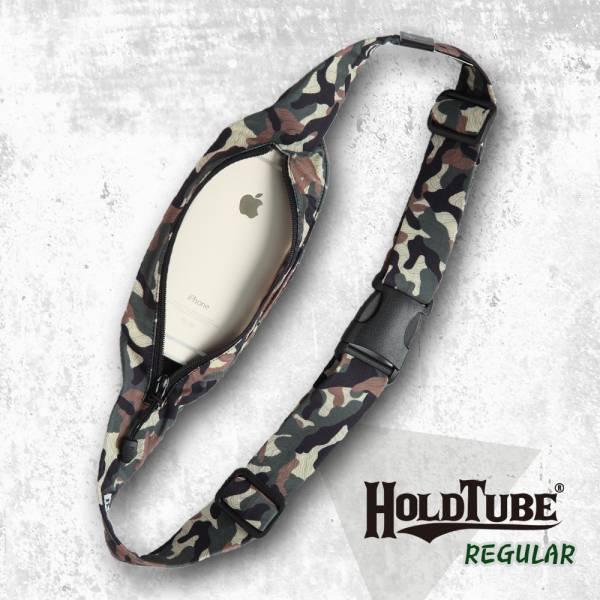 HOLDTUBE 運動腰帶-單口袋-中性迷彩 運動腰帶、時尚單品、運動配件