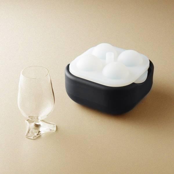 POLAR ICE 極地冰球 2.0 品酌組 - (四入冰球+杯兩件組) 杯子、酒杯、玻璃杯、三足品飲杯