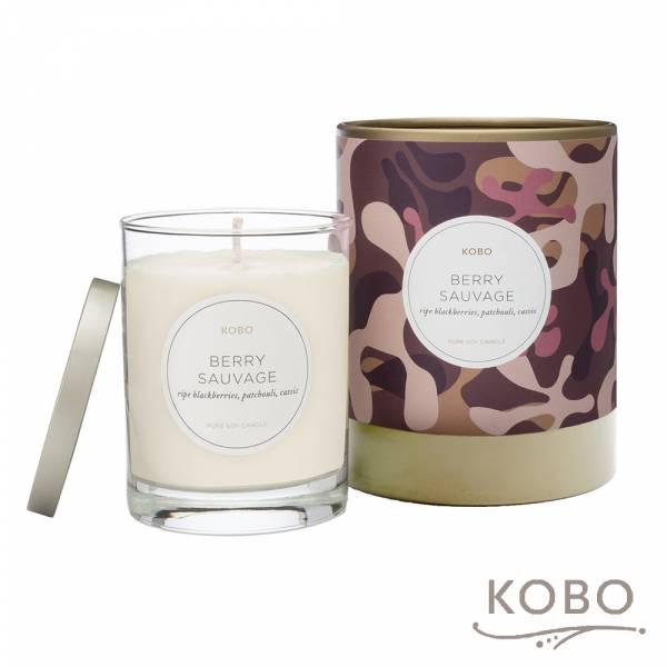 【KOBO】美國大豆精油蠟燭 - 叢林莓園 (330g/可燃燒80hr) 精油蠟燭,蠟燭,美國,天然,香氛,手工