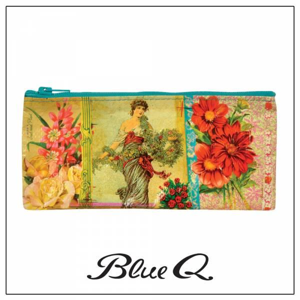 Blue Q 筆袋 - Flower 古典花兒 筆袋,收納袋,米袋,環保,創意,設計,再生,公益