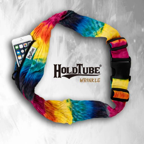 HOLDTUBE 運動腰帶-單口皺褶袋-都會意志 運動腰帶、水瓶袋、時尚單品、運動配件