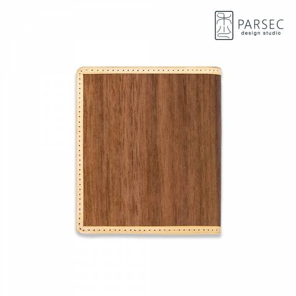 PARSEC 樹革胡桃短夾 樹革,自然,手工,台灣製