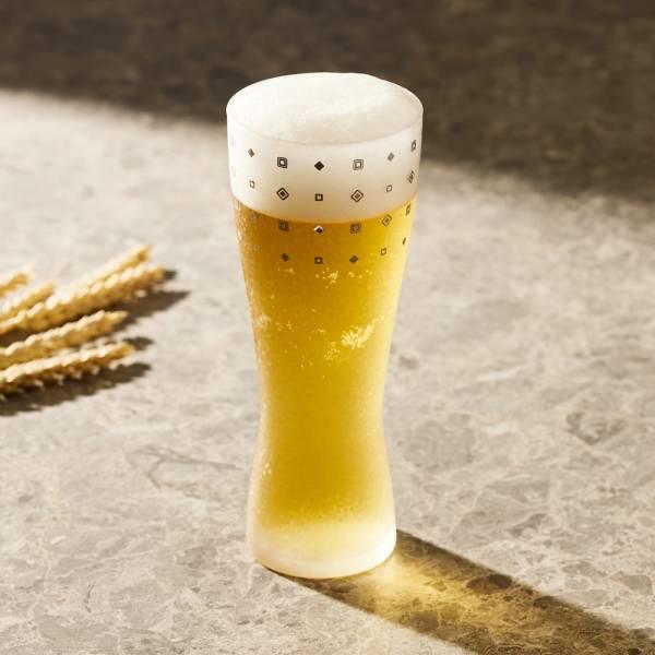 日本富硝子 - 水鑽霧面啤酒杯 - 威廉公爵 (415ml) 日本,玻璃,玻璃杯,飲料杯,酒杯,啤酒杯