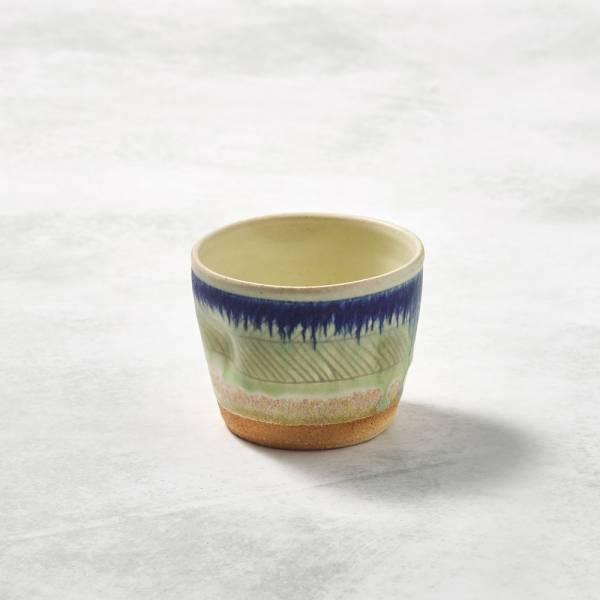 日本設計師系列 - 手握杯 - 藍繪彩 手繪,手作,職人,日本製,陶器,食器