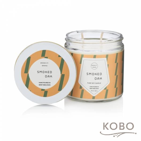 KOBO 美國大豆精油蠟燭 - 煙燻橡木 (450g/可燃燒 65hr) 精油蠟燭,蠟燭,美國,香氛,天然,手工,旅行