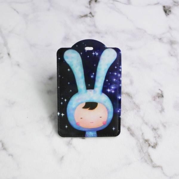 剪刀兔本鋪–證件套(直式)–繁星點點 卡套、悠遊卡套、可愛童趣
