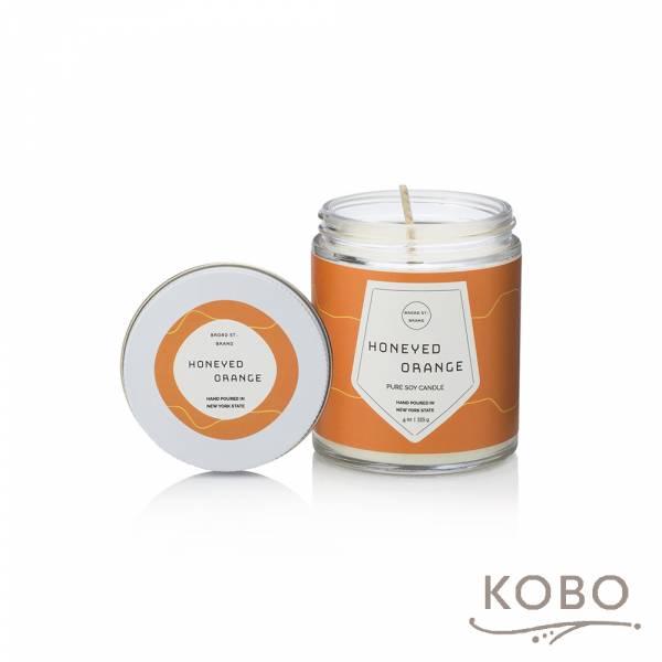 KOBO 美國大豆精油蠟燭 - 蜜香甜橙 (115g/可燃燒 20hr) 精油蠟燭,蠟燭,美國,香氛,天然,手工,旅行