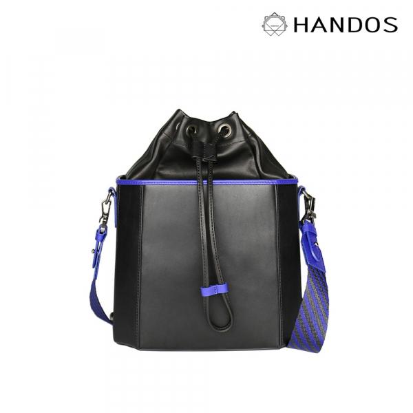 HANDOS|Iris 紫外光肩背水桶包 真皮,設計師,台灣設計,訂製五金,植鞣皮革