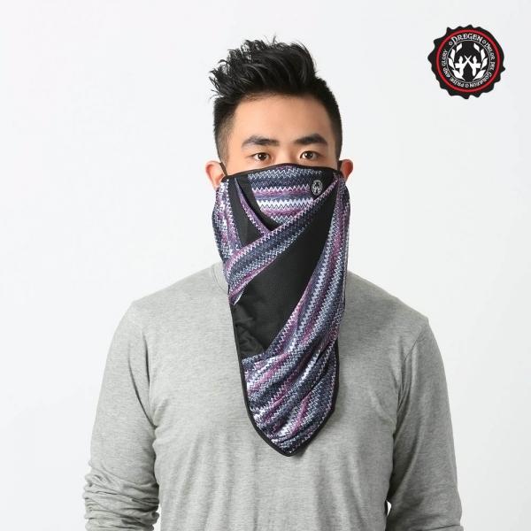 DREGEN  BL系列-三角巾面罩-森林晚霞 三角巾面罩、面罩、口罩