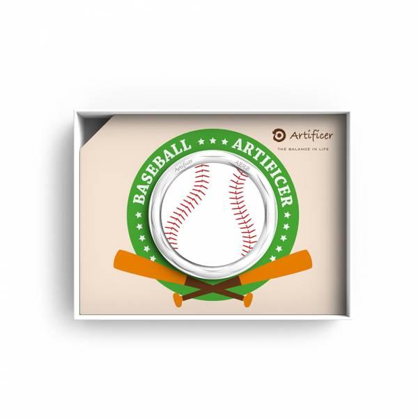 【Artificer】Rhythm for Kids 手環 - 棒球 (白) 3C,兒童,手環,飾品,天然礦物,健康,設計,生物電流,負離子,遠紅外線,安全,專利
