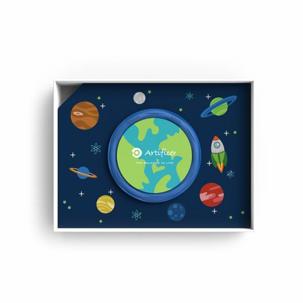 【Artificer】Rhythm for Kids 手環 - 太空 (藍) 3C,兒童,手環,飾品,天然礦物,健康,設計,生物電流,負離子,遠紅外線,安全,專利