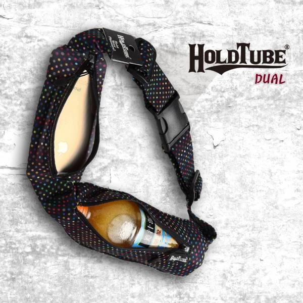 HOLDTUBE 運動腰帶-雙口袋-甜點彩虹 運動腰帶、水瓶袋、時尚單品、運動配件