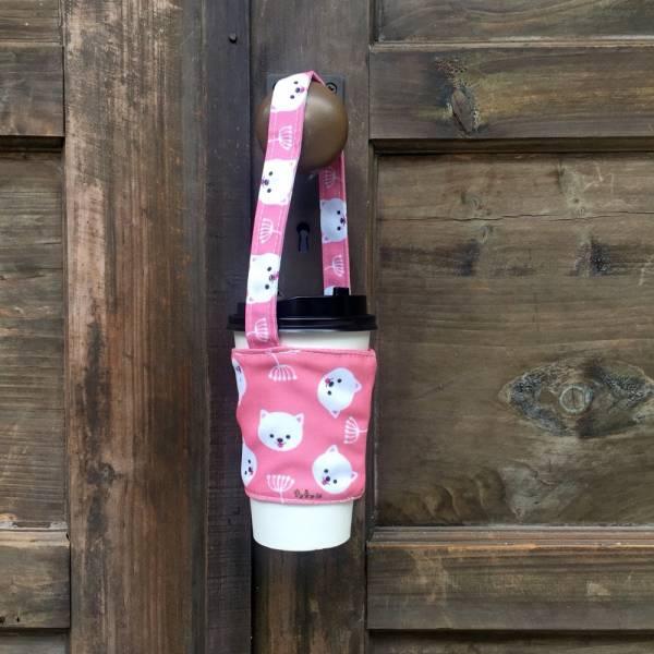 剪刀兔本鋪–飲料提袋–俏皮小博美  環保提袋、水壺周邊
