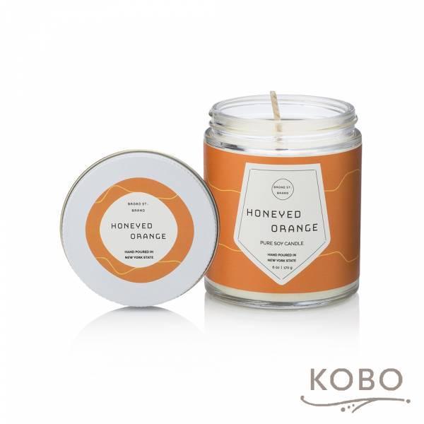 KOBO 美國大豆精油蠟燭 - 蜜香甜橙 (170g/可燃燒 35hr) 精油蠟燭,蠟燭,美國,香氛,天然,手工,旅行