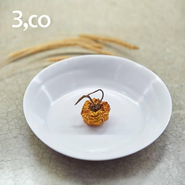 【3,co】水波系列點心盤 - 白 盤,水波,餐具,食器,米其林,當代,國際,台灣之光,台灣,原創,設計,簡約,生活美學,空間,瓷器,東方意象,驚豔,精品,禮物,禮品,送禮