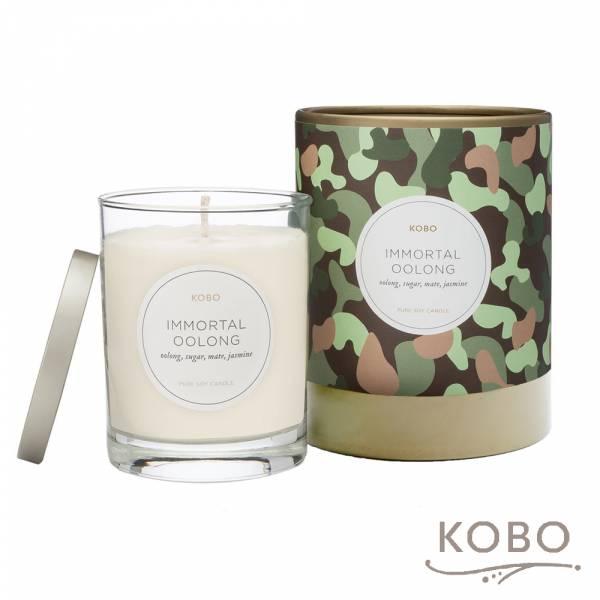 【KOBO】美國大豆精油蠟燭 - 烏龍流香 (330g/可燃燒80hr) 精油蠟燭,蠟燭,美國,天然,香氛,手工