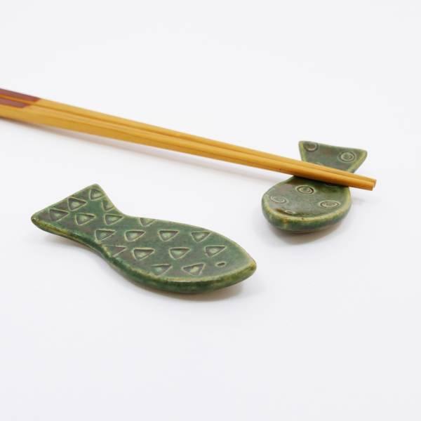 日本設計師系列 - 小魚筷架 (2款任選) 手繪,手作,職人,日本製,陶器,食器