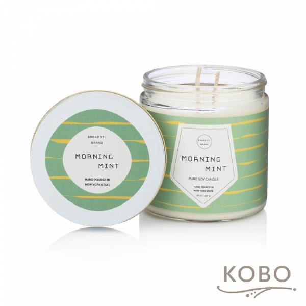 KOBO 美國大豆精油蠟燭 - 冰沁微晨 (450g/可燃燒 65hr) 精油蠟燭,蠟燭,美國,香氛,天然,手工,旅行