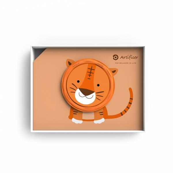 【Artificer】Rhythm for Kids 手環 - 老虎 (橘) 3C,兒童,手環,飾品,天然礦物,健康,設計,生物電流,負離子,遠紅外線,安全,專利