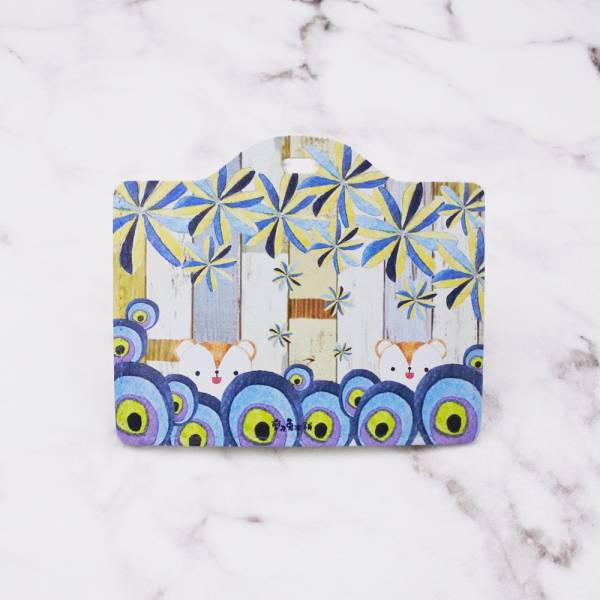 剪刀兔本鋪–證件套(橫式)–小咪鼠躲迷藏 卡套、悠遊卡套、可愛童趣