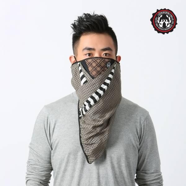 DREGEN  BL系列-三角巾面罩-都會叢林 三角巾面罩、面罩、口罩