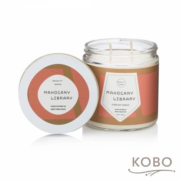 KOBO 美國大豆精油蠟燭 - 桃木燻香 (450g/可燃燒 65hr) 精油蠟燭,蠟燭,美國,香氛,天然,手工,旅行