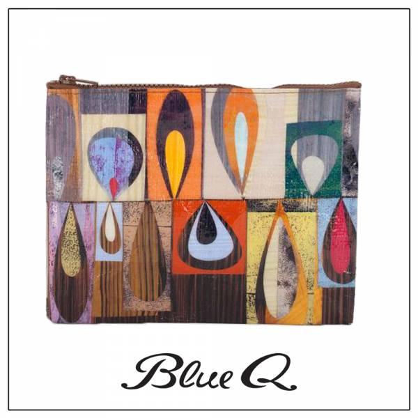 Blue Q 拉鍊袋 - Droplet 水滴 收納袋,米袋,環保,創意,設計,再生,公益