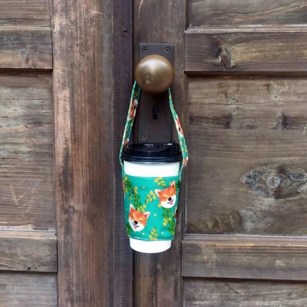 剪刀兔本鋪–飲料提袋–傻笑憨柴(綠)  環保提袋、水壺周邊