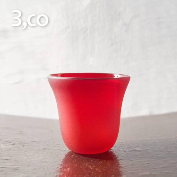 【3,co】手工彩色玻璃杯(小) - 紅 茶杯,酒杯,玻璃杯,杯,擺飾,光雕,玻璃,藝術,品味,花器,當代,國際,台灣之光,台灣,原創,設計,簡約,生活美學,空間,東方意象,驚豔,精品,禮物,禮品,送禮