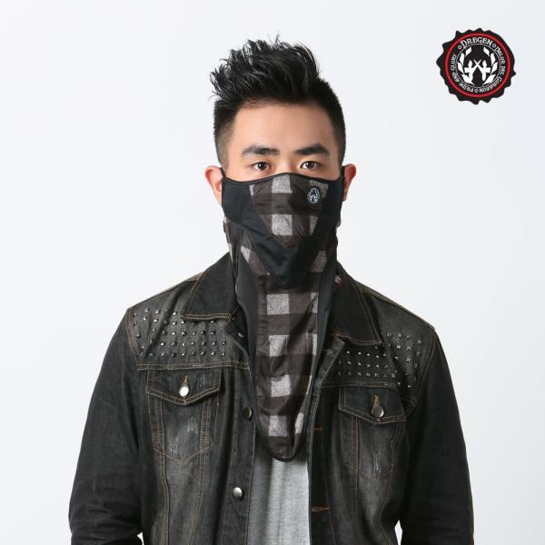 DREGEN  IM系列-雙層面罩-俠客喝可可 雙層面罩、面罩、口罩
