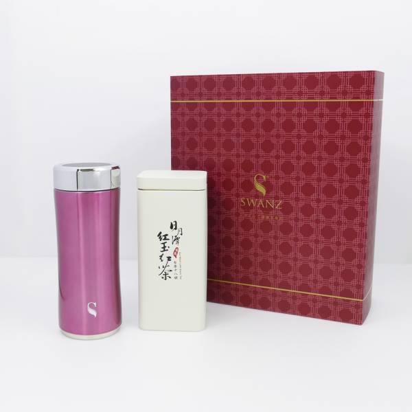 SWANZ|晶粹陶瓷保溫杯禮盒組(2色) - 360ml (國際品牌/品質保證) 不怕異味殘留,真空雙層,陶瓷保溫杯,保溫,保冷,安全無毒,陶瓷內膽